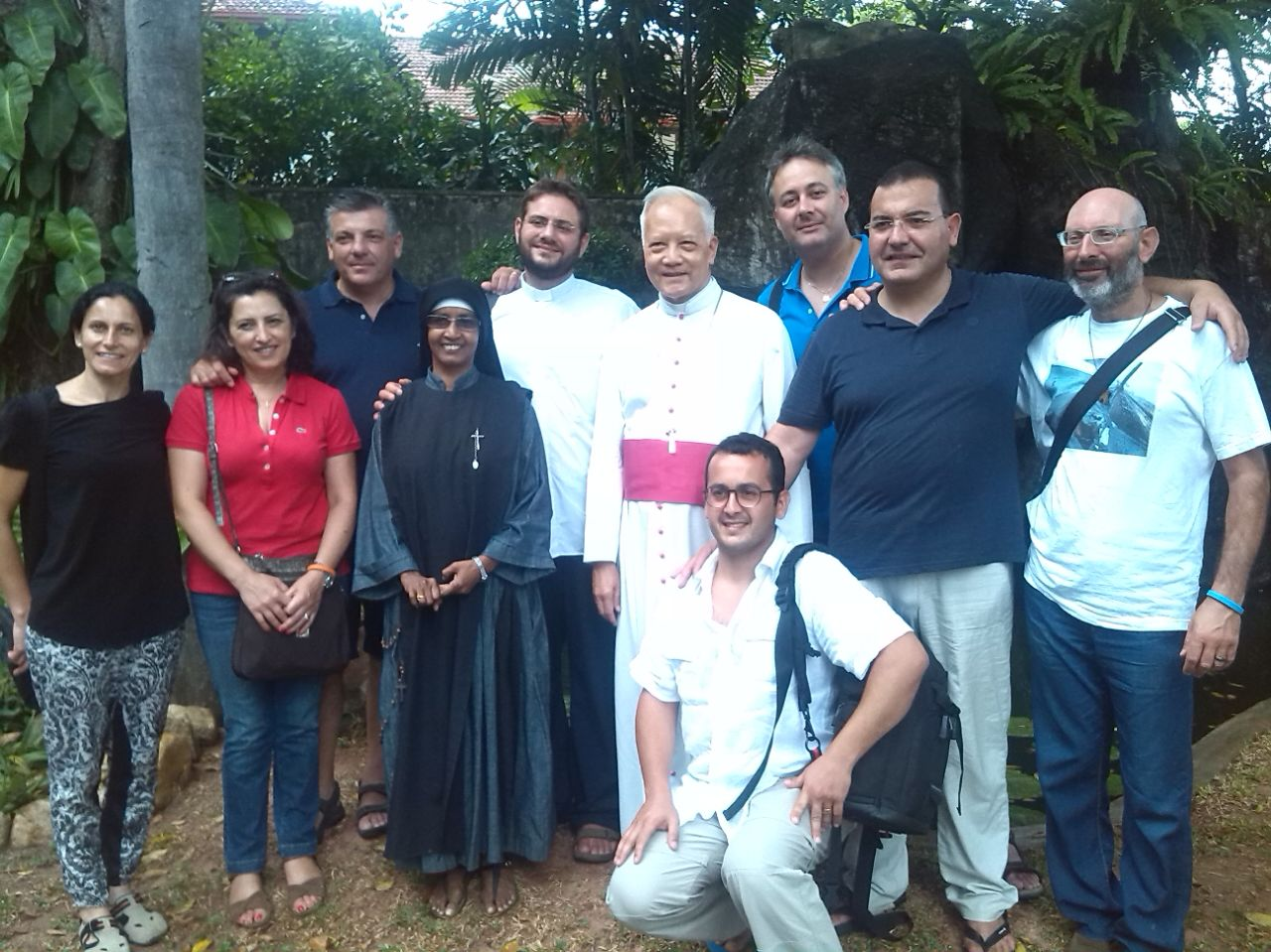 Nunzio Apostolico, Madre Amata, Equipe Missionaria